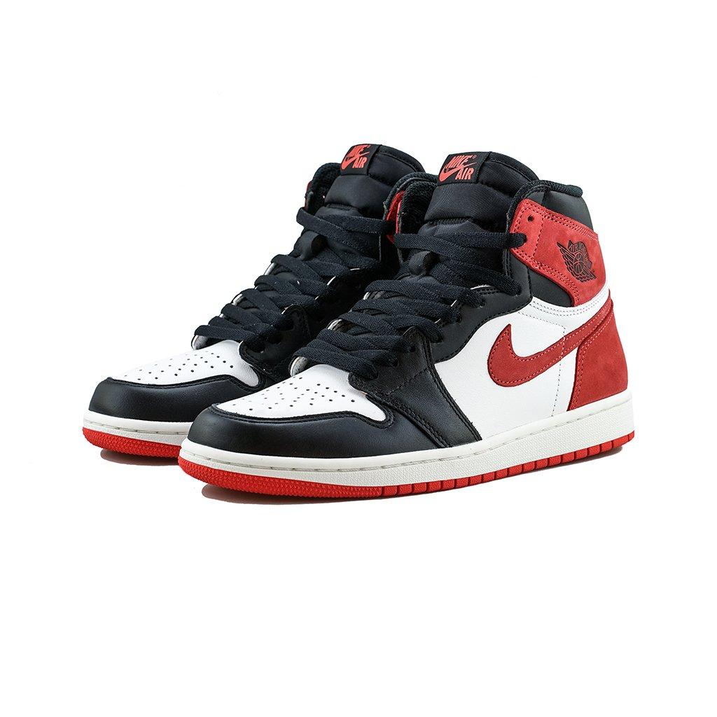 3e81bc96c627 Air Jordan 1 Retro High OG Red Track youbetterfly