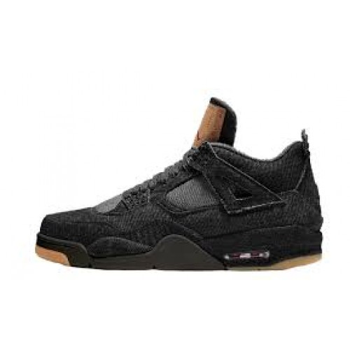 Air Jordan 4 Levi's Black