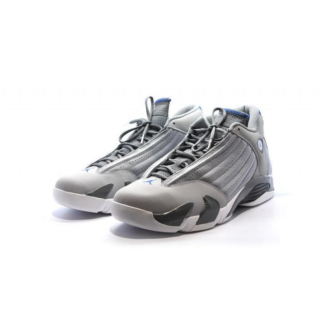 pretty nice fe99b 5bac4 Air Jordan 14 Sports Blue - Shop Online for Premium ...