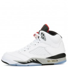 Air Jordan 5 White University